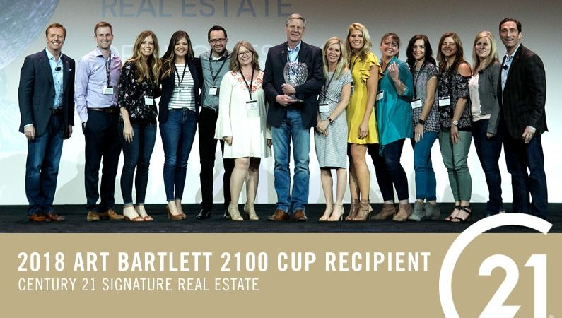 2018 Art Bartlett 2100 Cup Award Winners – CENTURY 21 Signature Real Estate