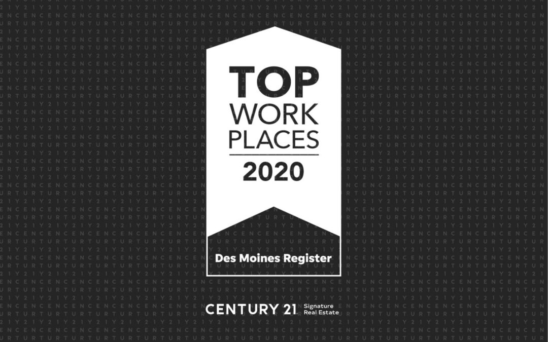 CENTURY 21 Signature Real Estate Named Top Workplace 2020