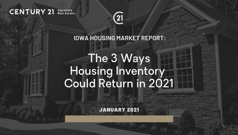 The 3 Ways Housing Inventory Could Return in 2021